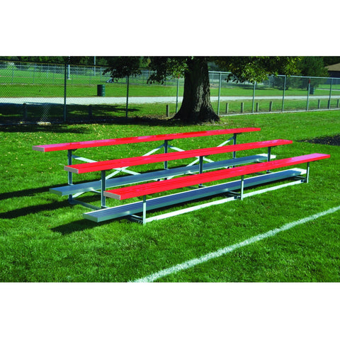 Bison Standard Steel Structure Portable Outdoor Bleachers - Pitch Pro Direct