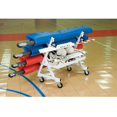 Bison Volleyball Four Post Transport Cart - Pitch Pro Direct