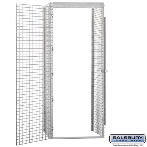 "Salsbury 36"" Wide Single Tier Bulk Storage Locker"