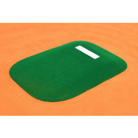 allstar mounds 12u #3 pitching mound in green top view
