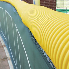 Fence Crown Protective Fence Guard Bright Yellow - 100' - Pitch Pro Direct