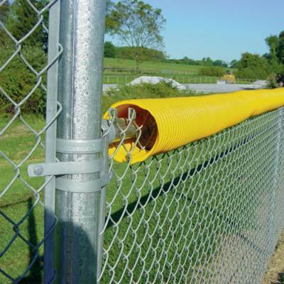 Fence Crown Protective Fence Guard Bright Yellow - 250' - Pitch Pro Direct