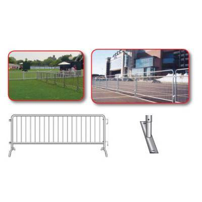 Crowd Control Steel Barricades - Pitch Pro Direct