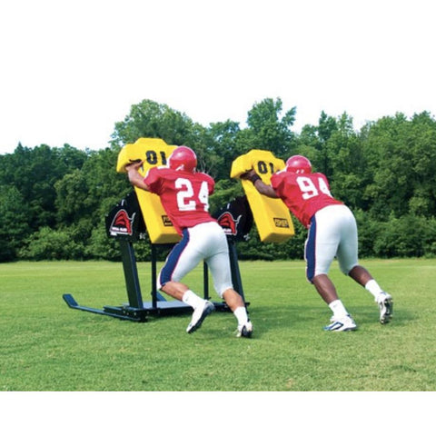 Fisher 3 Man Bull Football Blocking Sled - Pitch Pro Direct