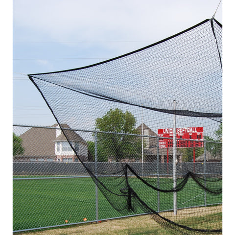 "Gared Outdoor Batting Cage Net, 1-3/4"" Square Mesh"