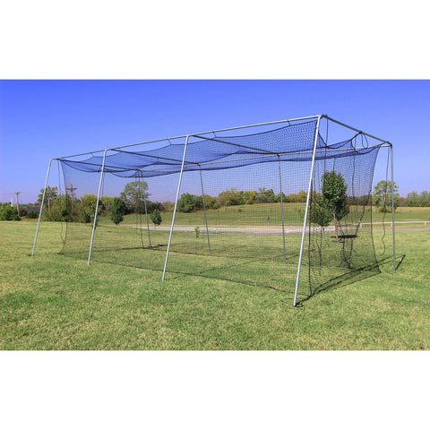 Cimarron Twisted Poly Batting Cage Net Side View