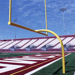 JayPro 20' Upright High School MAX-1™ Football Goal Post Leveling Plate - Pitch Pro Direct