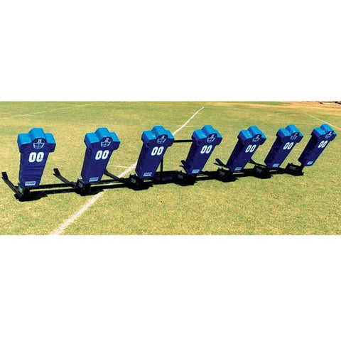 Fisher 7 Man Big Boomer Football Blocking Sled - Pitch Pro Direct