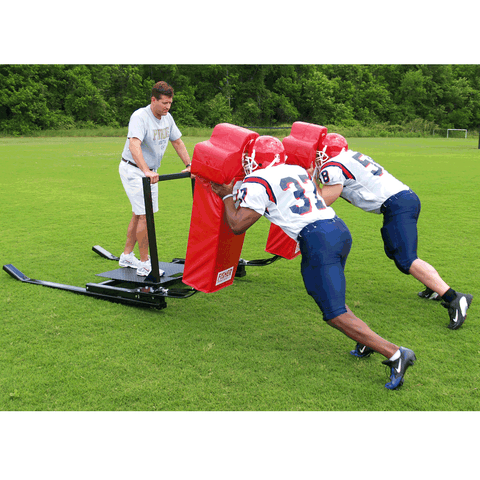 Fisher 6 Man Football Brute Blocking Sled - Pitch Pro Direct