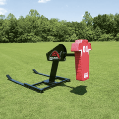 Fisher 1 Man Bull Rush Football Blocking Sled - Pitch Pro Direct