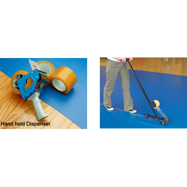 Tape with Hand-Held Walk-Behind Dispenser By GymGuard®