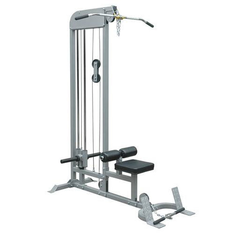 Champion Barbell®Plate-Loaded Lat Pulldown/Low Row Machine