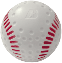 dimpled seamed pitching machine balls
