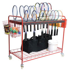 Tennis Racquet Storage Cart
