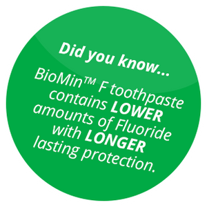 BioMin® F Toothpaste 75ml tube (for sale in Ireland only)