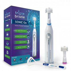 Triple Bristle Sonic Go Electric toothbrush