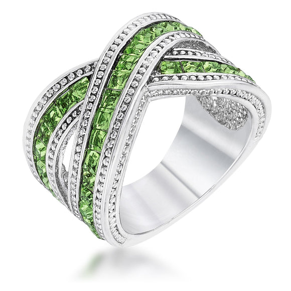 Twisting Green Band