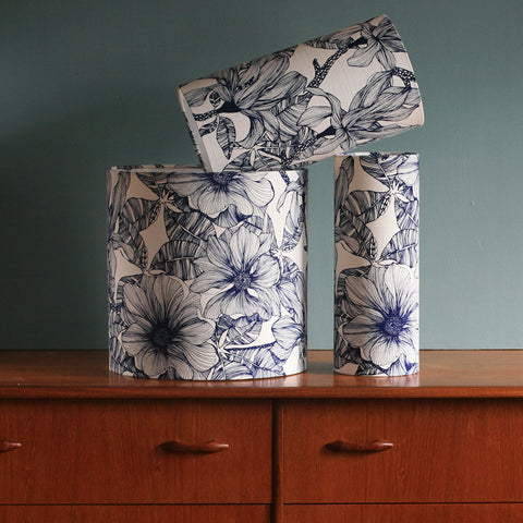 Magnolia Royal Blue, Lamp Shade