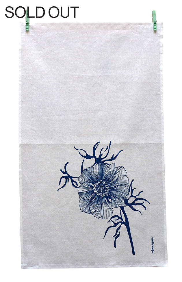 Sea Flower, Tea Towel