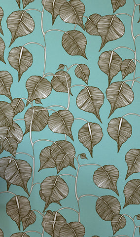 Swedish Leaf, Wallpaper