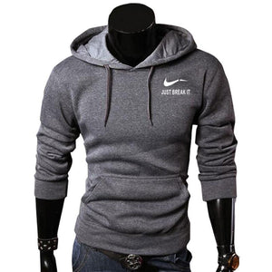 Autumn New Arrival High JUST BREAK IT Printed Sportswear Men Sweatshirtdresslliy-dresslliy
