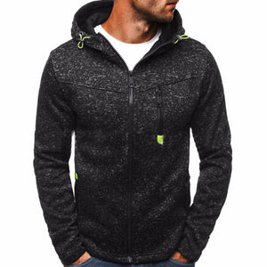 Winter Hoodie Male Cardigan 2017 New Long sleeve hoodies men Zipper Sweatshirtdresslliy-dresslliy
