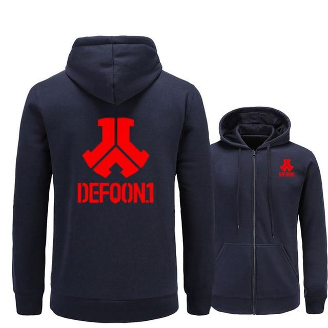 2017 New Defqon 1 Rock Band Hip Hop Men Hoodies Sweatshirts Winterdresslliy-dresslliy