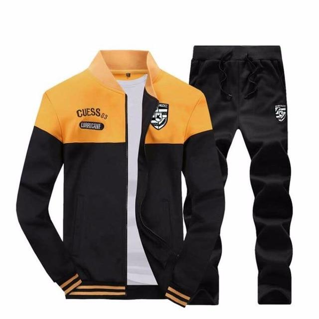 Tracksuit Men 2017 Spring New Fashion Splice Designer Mens Hoodies Sweatshirtdresslliy-dresslliy