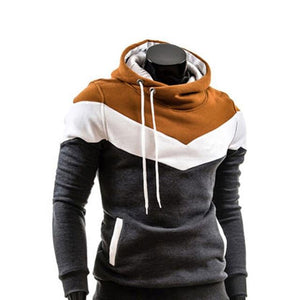 Fashionable Men Hooded Leisure Casual Hoodie With a Soft Fluff anddresslliy-dresslliy