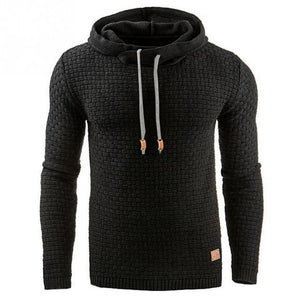 Men's Sweatshirt & Hoodies Hip Hop Hoodies Male Brand Hoodies black Stickydresslliy-dresslliy