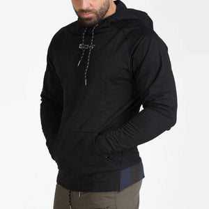 Mens cotton Hoodies Fashion Casual Zipper sweatshirt male gyms fitness Bodybuilding workoutdresslliy-dresslliy