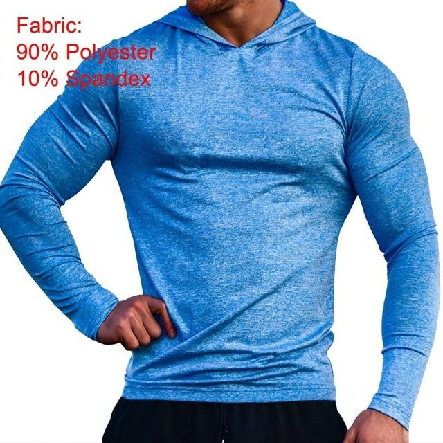 Mens Bodybuilding Hoodies Golds Gyms Clothing Workout Slim Fit Sweatshirts Male Hoodeddresslliy-dresslliy