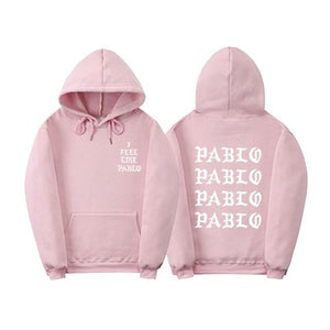 purpose tour i feel like pablo hoodies poleron hombre fashion Streetwear sweatshirtdresslliy-dresslliy