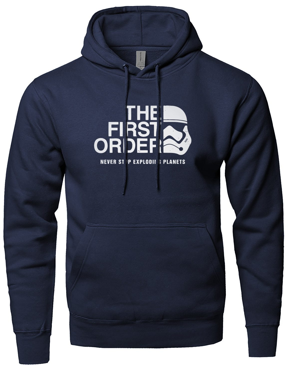 The First Order Print Hoodie Men 2018 Hot Fleece Sweatshirts Hip Hopdresslliy-dresslliy