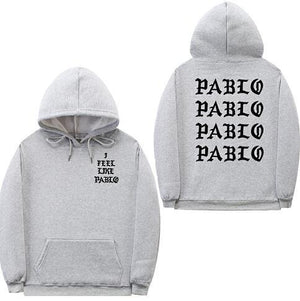 I Feel Like Paul Pablo Kanye West sweat homme hoodies men Sweatshirtdresslliy-dresslliy