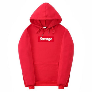 2018 100% Cotton 21 Savage Street Wear Suprem Hoodies Parody No Heartdresslliy-dresslliy