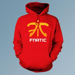 LOL CSGO clan fnatic game team Men pullover hoodies cardigan man esportdresslliy-dresslliy