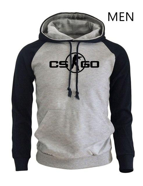 CS GO Game Cosplay Print Hoodies Fashion Streetwear 2018 New Arrival Springdresslliy-dresslliy