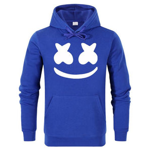 Marshmello Smiley Face Hoodies Men Hip Hop Fashion Streetwear Hoodie Sweatshirtsdresslliy-dresslliy