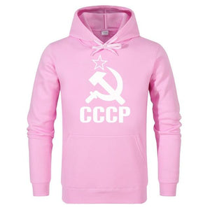 CCCP Russian Sweatshirts Men Hoodies Streetwear Fashion Brand Casual long sleevedresslliy-dresslliy