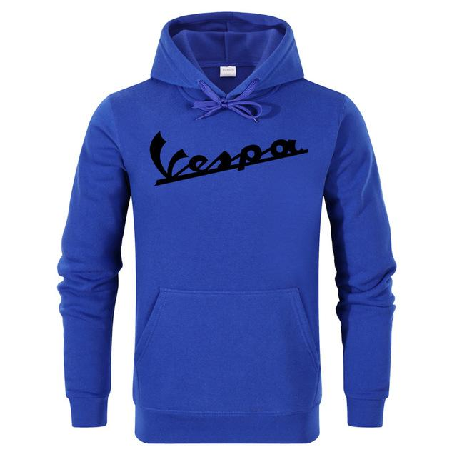 2018 Spring New Men Hooded Clothing 100% Cotton Vespa Hoodies Sweatshirtsdresslliy-dresslliy