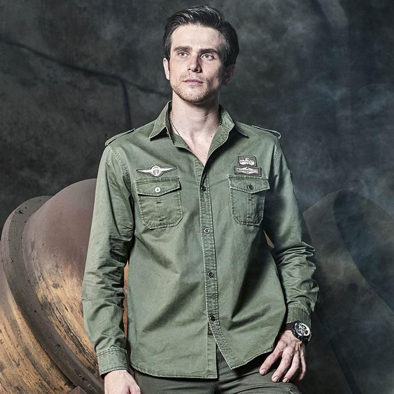 101 Airborne Clothes Tactical Shirts Mens Military Field Cargo Tops Air Forcedresslliy-dresslliy