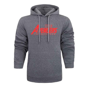 Hot MARVEL AVENGERS INFINITY WAR 2018 Autumn And Winter Brand Sweatshirts Mendresslliy-dresslliy
