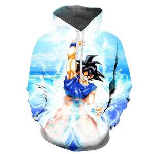 NEW Seven dragon ball wukong anime hooded 3D Pocket Hooded Sweatshirts 3Ddresslliy-dresslliy