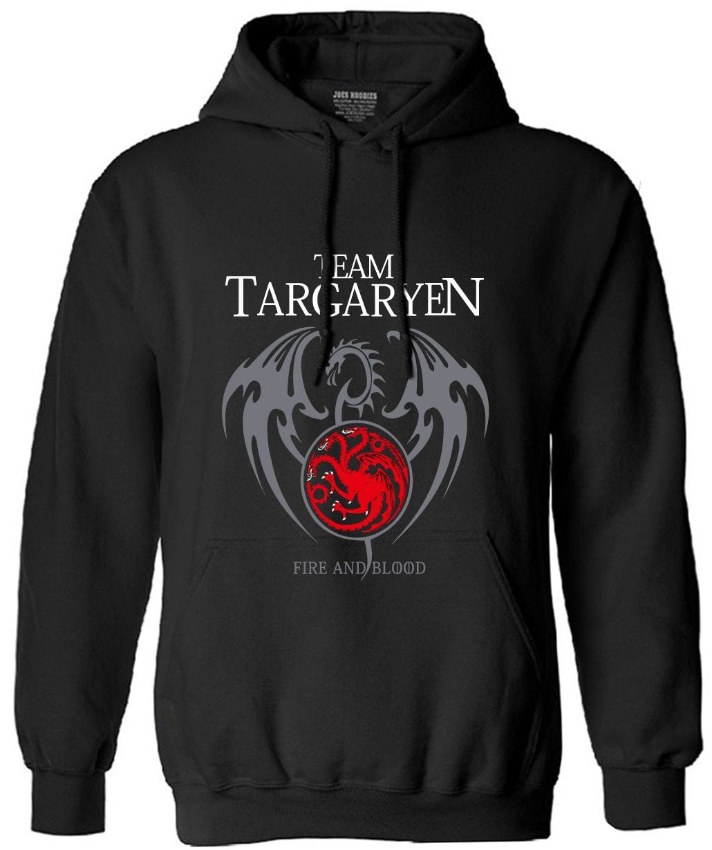 targaryen men long sleeve fleece hoodies 2018 autumn funny Game of thronesdresslliy-dresslliy