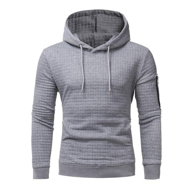 2018 New High-End Casual Hoodie Men'S Fashion Unique Korean Style Long-Sleeved Sweatshirtdresslliy-dresslliy