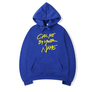 Call Me By Your Name Hoodies Men Casual Long Sleeve Fleece Lucadresslliy-dresslliy