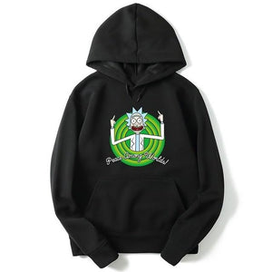 2018 New Rick And Morty hoodies man funny Hip Hop Autumn rickydresslliy-dresslliy