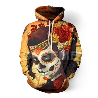ONSEME Vintage Religion Buddha Elephant 3D Hoodies Men/Women Cool Rainbow Unicorn Skulldresslliy-dresslliy