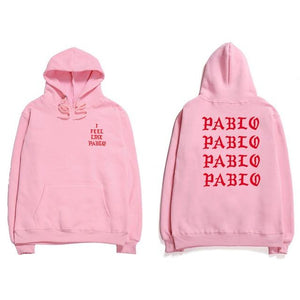 Assc Hip Hop Hoodies Men I Feel Like Pablo Kanye West Streetweardresslliy-dresslliy